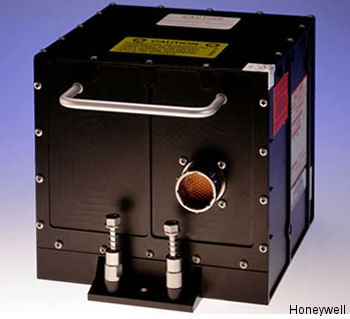 LASEREF VI Inertial Reference Unit reduced crew workload and elimination of mode select unit