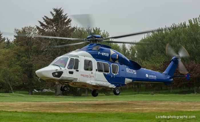 EC175 Demo Tour Stop In, Aberdeen, Scotland
