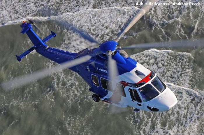 On January 30, 2014 the European Aviation Safety Agency (EASA) issued the type certificate for the EC175 helicopter