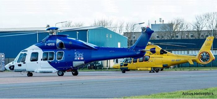 Belgian Noordzee Helicopters Vlaanderen (NHV) to become the first customer to receive the EC175 next-generation medium-sized helicopter on December 11, 2014