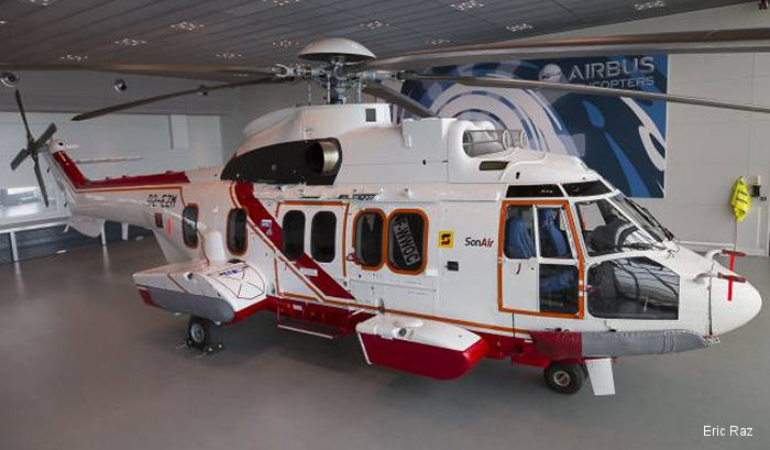 Airbus Helicopters delivers three workhorse EC225s to Milestone Aviation Group for African oil and gas operations by SonAir