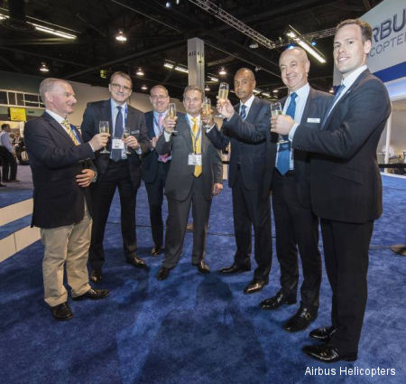 Milestone Aviation Group and SonAir initiate long-term partnership with three Airbus Helicopters EC225s