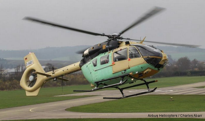 The EC645T2, military variant of the EC145T2 helicopter, completed its first flight. German Bundeswehr, launch customer, will received first helicopters in this series in late 2015