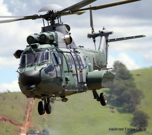 Helibras delivers 10th and 11th EC725s to Brazilian Armed Forces