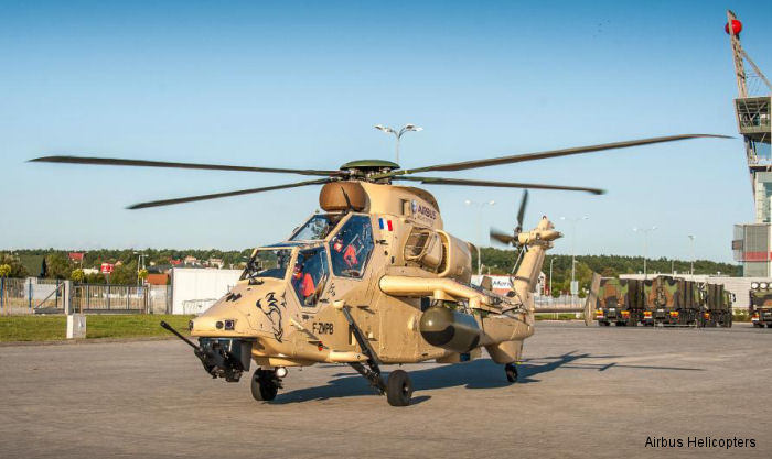 EC665 Tiger Debuts In Poland Alongside EC725 At MSPO