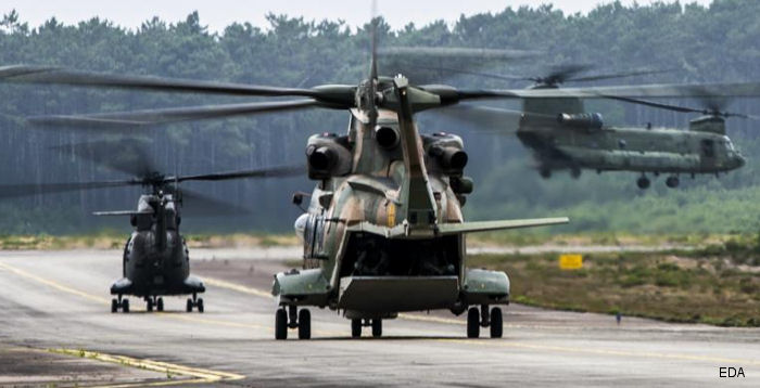 European Defence Agency organized <a href=/database/ops/120/>Hot Blade 2014</a> exercise in Portugal last July