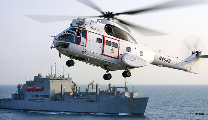Erickson Incorporated Awarded Contract Extension with U.S. Navy, Military Sealift Command (MSC)