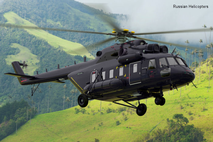 Russian Helicopters at FIDAE 2014