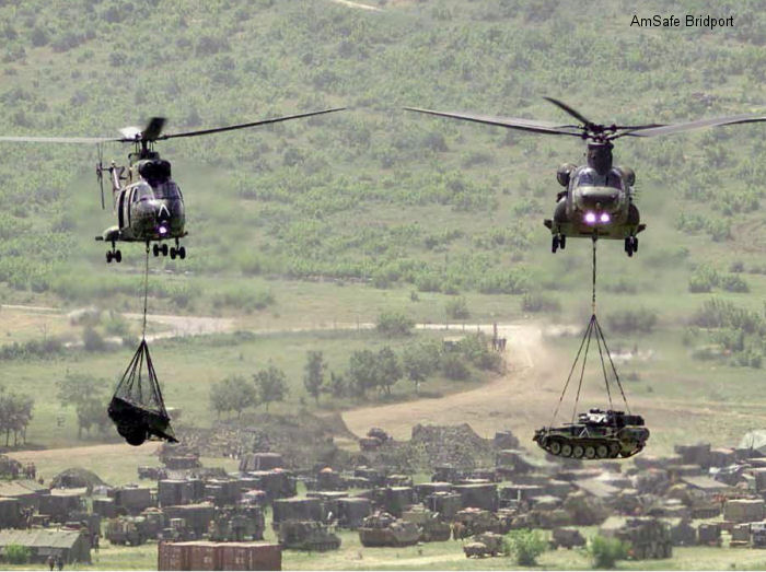 AmSafe Bridport wins multipurpose helicopter transport system contract for the French armed forces
