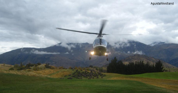 AgustaWestland GrandNew Begins New Zealand Demonstration Tour