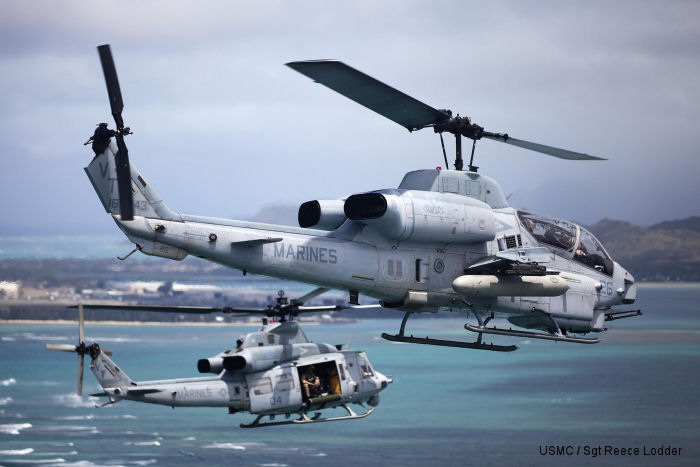 AH-1Z and UH-1Y
