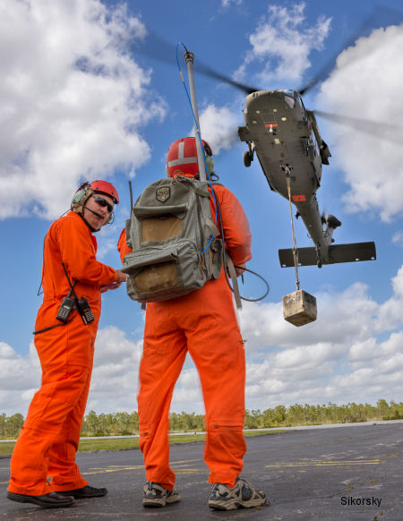 Optionally Piloted Black Hawk Demonstrator Helicopter Takes Successful First Flight