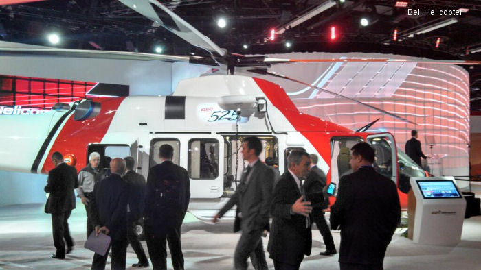 Bell Helicopter Reveals the Latest in the Bell 525 Program During HELI-EXPO 2014
