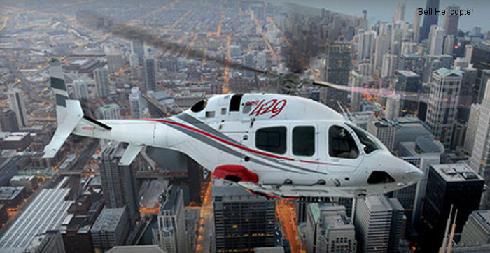 Bell Helicopter products at Heli-Expo 2014