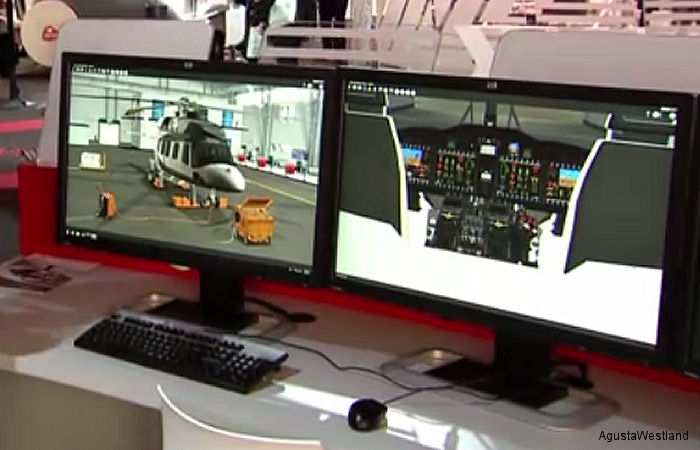 AgustaWestland HeliSmart Virtual Maintenance Trainer