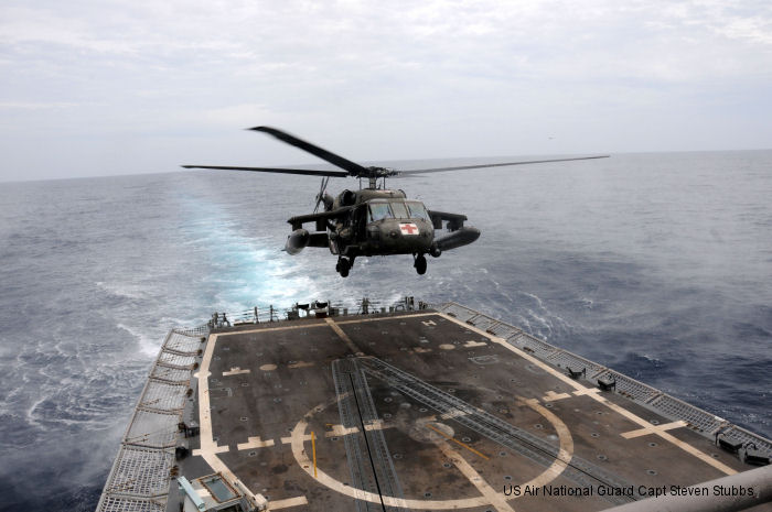 US Army aviation accomplishes deck landing qualification