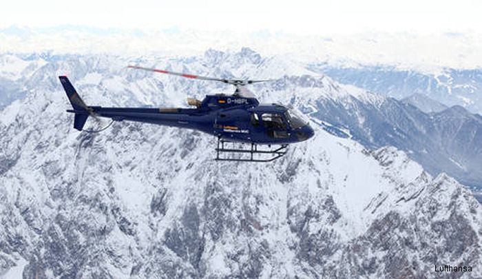 In Munich Lufthansa customers will be transported from their aircraft into airport's VIP service. The company HTM Helicopter Travel Munich GmbH will then take them to their desired holiday destinatiom