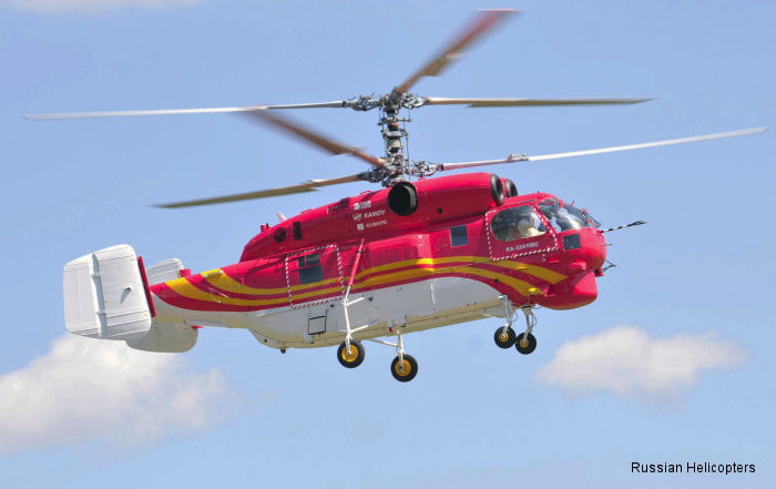 Russian Helicopters delivers two Ka-32A11BC helicopters to China