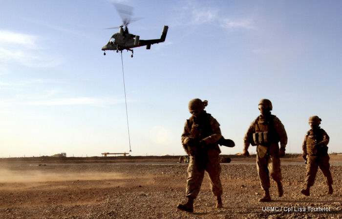Lockheed Martin Unmanned K-MAX Cargo Helicopter Team Returns from Deployment with U.S. Marine Corps in Afghanistan
