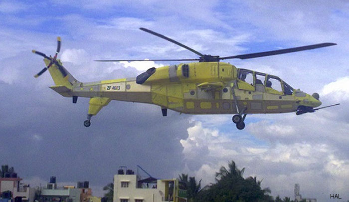 India HAL Light Combat Helicopter (LCH) Technology Demonstrator TD-3 made the successful maiden flight on November 12, 2014. IOC Expected by September 2015