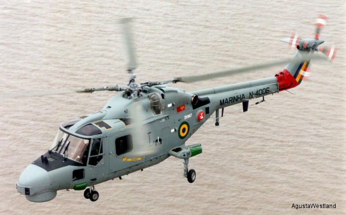 AgustaWestland signed USD 160M contract to install new engines and upgraded navigation and mission avionics on 8 Lynx helicopters of the Brazilian Navy between 2015 and 2019