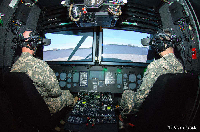 The Maine Army National Guard Charlie Company, 1st Battalion, 126th Aviation Regiment acquired Aviation Combined Arms Tactical Trainers  which are mobile aviation simulator systems for training.
