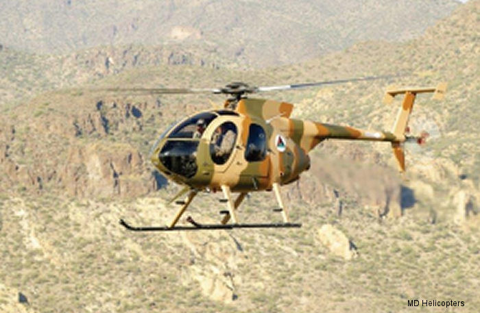 MD Helicopters Awarded Contract To Deliver Twelve MD 530F  Helicopters To The Afghan Air Force
