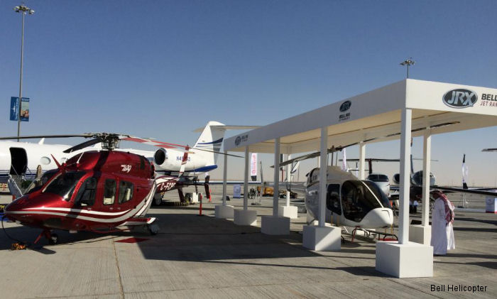 Bell Helicopter announced sale of a Bell 429 and 2 Bell 505 at the Middle East Business Aviation (MEBA) exposition, Middle East largest business aviation event, held at Dubai World Central, UAE