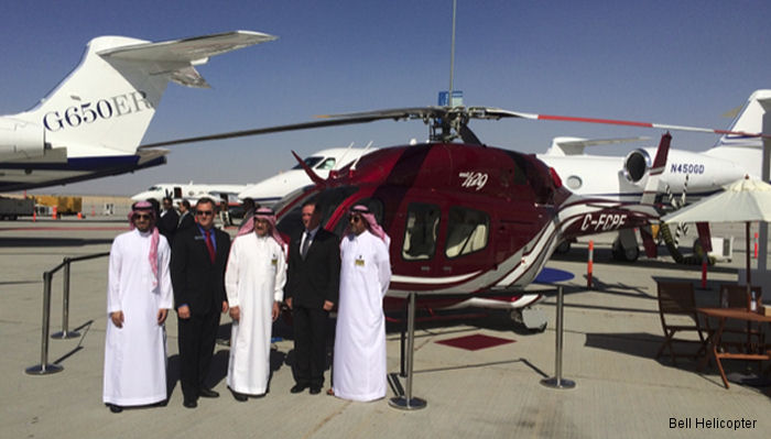 Bell Helicopter Boosts Sales in the Middle East at MEBA