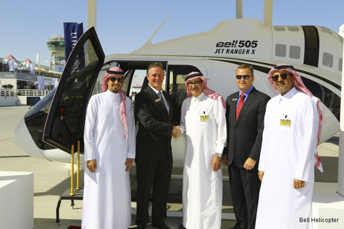 Bell Helicopter at Middle East MEBA 2014