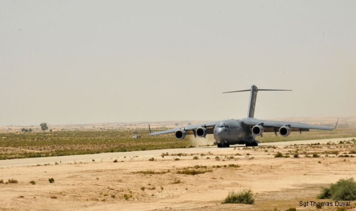 USAF and US Army at MFO Mission in Egypt