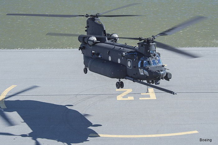 Boeing Delivers First New-Build MH-47G Special Operations Chinook