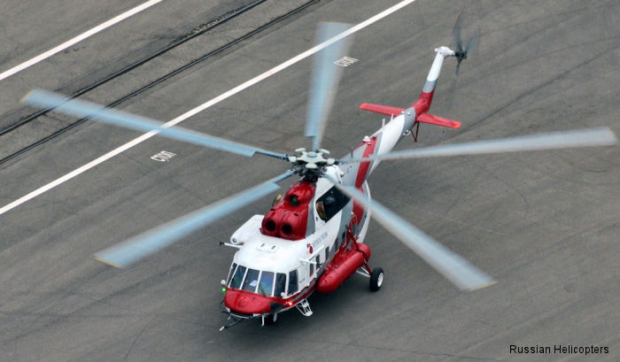 The first prototype of the Mi-171A2 helicopter launched flight tests using the KBO-17 avionics suite and the new VK-2500PS-03 engines at the Mil Moscow Helicopter Plant