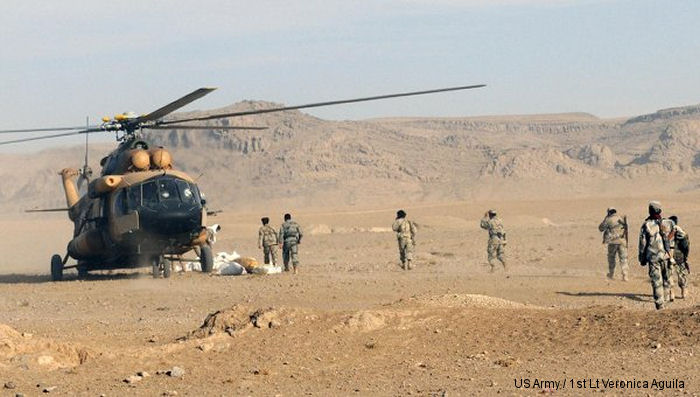 Commander of American and NATO forces in Afghanistan impressed with the Mi-17