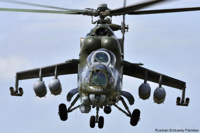 Russia will provide Pakistan Mi-35 attack helicopters to strengthen its counterterrorism efforts.