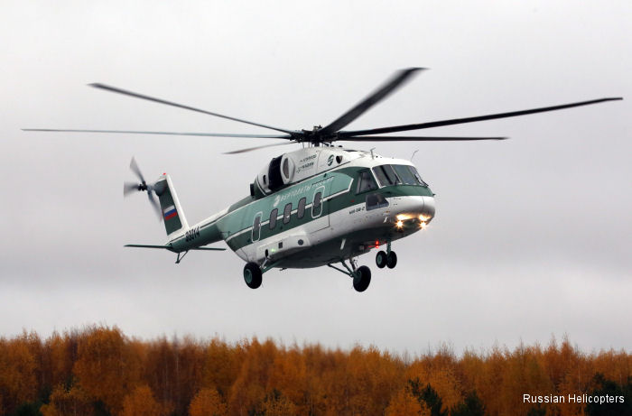 Russian Helicopters Mi-38 pre-series production prototype makes first flight