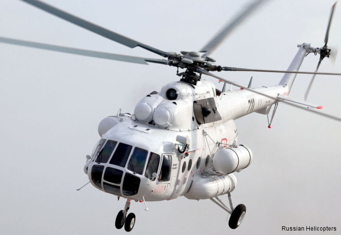 Russian Helicopters delivers Mi-8AMT to Kazakhstan