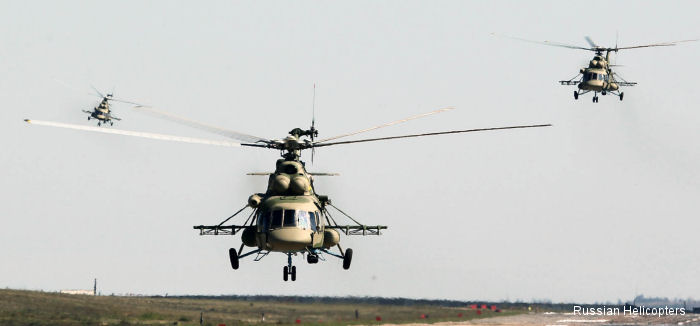 Russian Helicopters delivers first consignment of upgraded Mi-8AMTSh to Defence Ministry