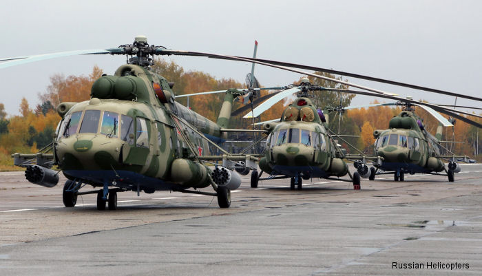 Russian Helicopters delivers Mi-8MTV-5-1s to Russian Defence Ministry