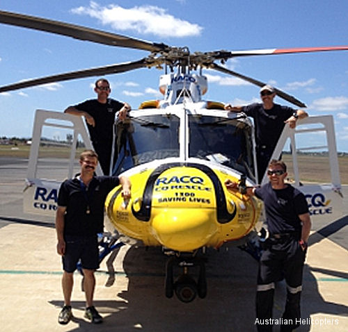 Australian Helicopters celebrates Movember, an annual event involving the growing of moustaches during the month of November to raise awareness of men health issues, with moustache-adorned helicopters
