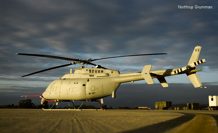MQ-8C Fire Scout reaches 100 flight hours