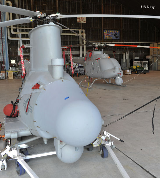 Northrop Grumman MQ-8C Fire Scout to Undergo Electromagnetic Interference Tests In Prep for Ship-based Flights