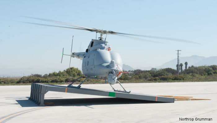 MQ-8C Fire Scout completes