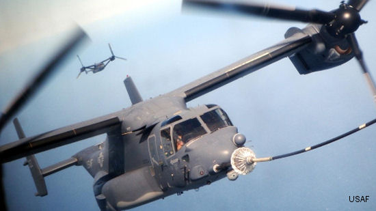 Cobham Receives Orders for V-22 Refuelling Probes under Latest Multi year Deal