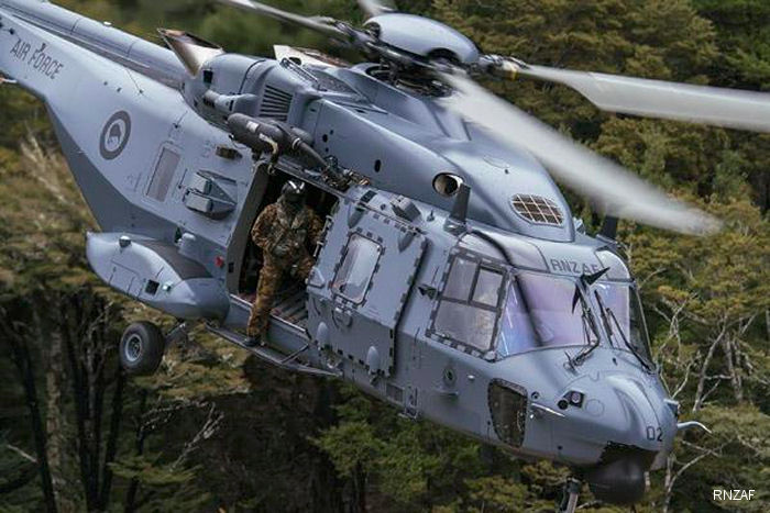 The Helicopter Transition Unit (HTU) which is responsible for the introduction into service of the NH90 and AW109 helicopters, was merged into 3 Squadron. The NH90 replaced the Huey UH-1H Iroquois  as RNZAF main helicopter.