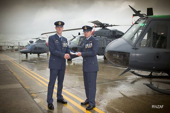Change of command of 3 Squadron took place at RNZAF Base Ohakea