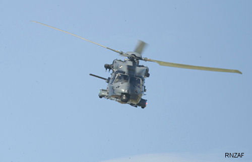 Air Force welcomes delivery of last NH90 helicopter