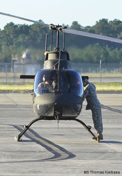 Kiowa helicopters find new life in Florida after National Guard retirement