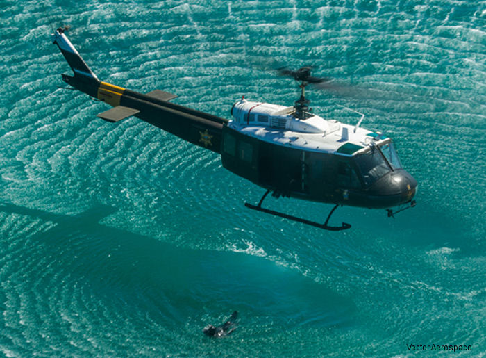 Vector Aerospace and Orange County (CA) Sheriff Department sign AS350 and UH-1H MRO support contract