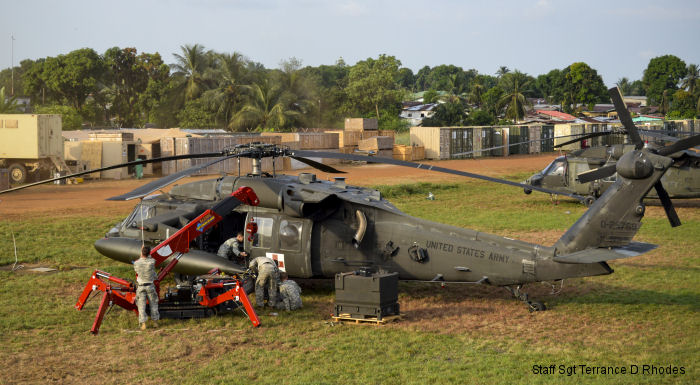 HH-60L Black Hawk MEDEVAC helicopter